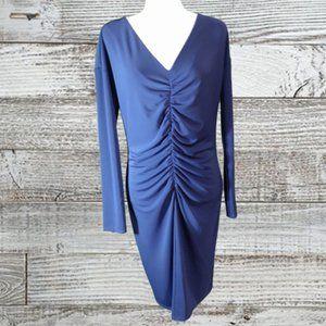 Elegant Narcisco Rodriquez Cobalt Blue Dress EUC